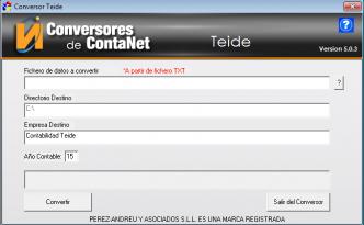 Conversor Teide