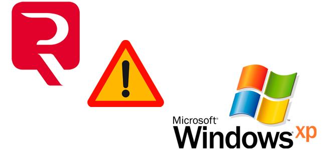 Incompatibilidad de Windows XP con Legalia 2