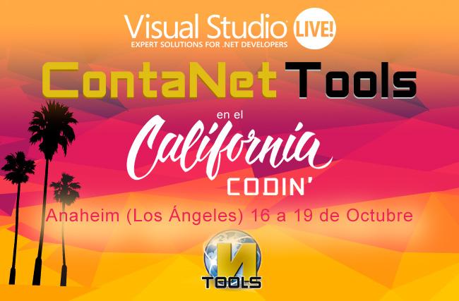 ContaNet Tools en el California Codin como Gold Sponsor