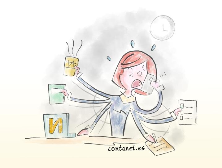 ¿Como afrontar el estrés en el trabajo?