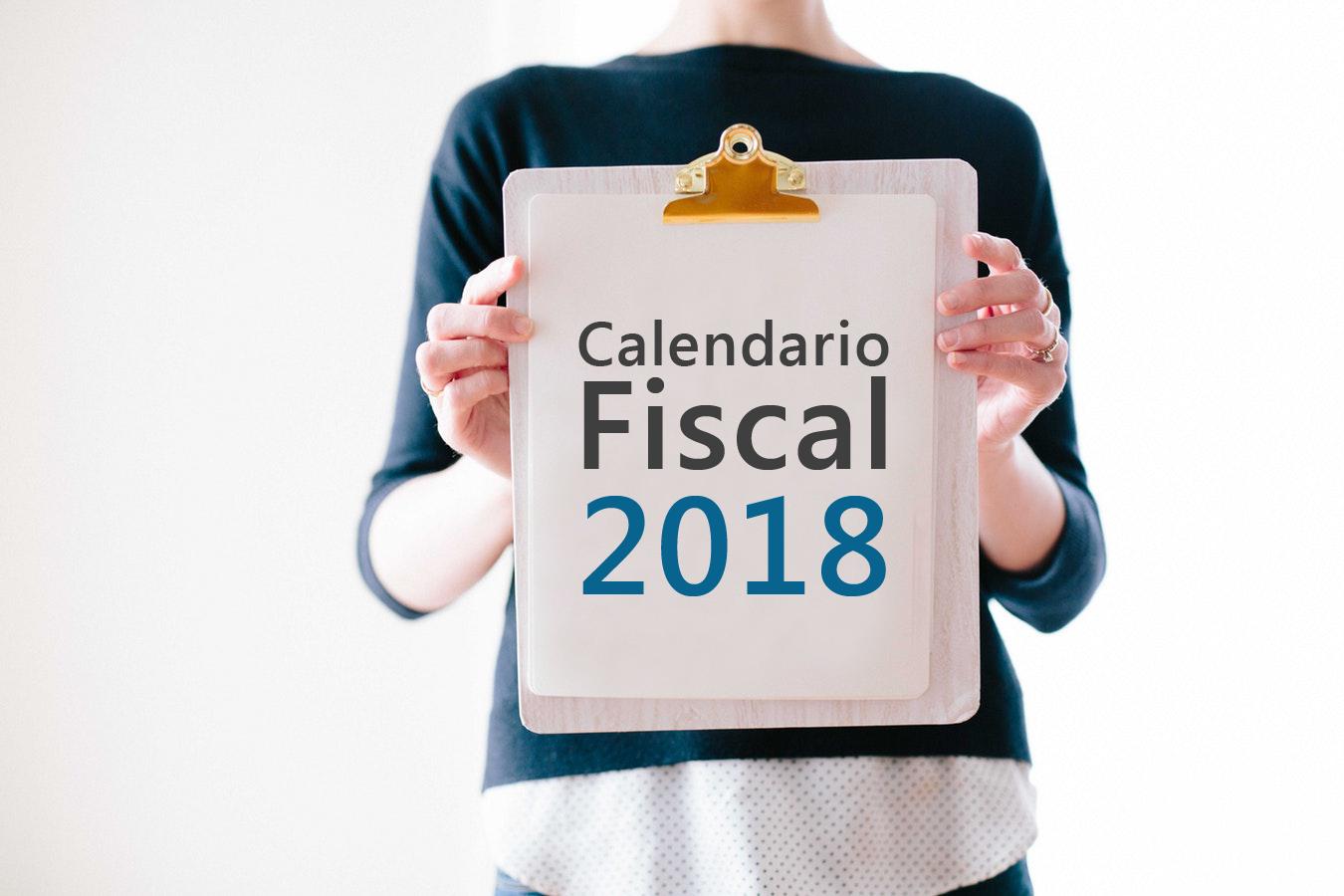 Calendario Fiscal 2018